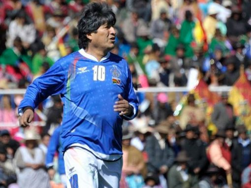 Bolivia: State president and professional footballer
