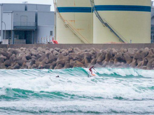 Surfeando en Fukushima