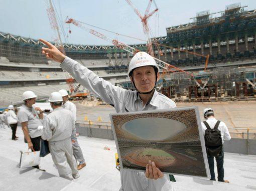 Juegos olímpicos, en construcción